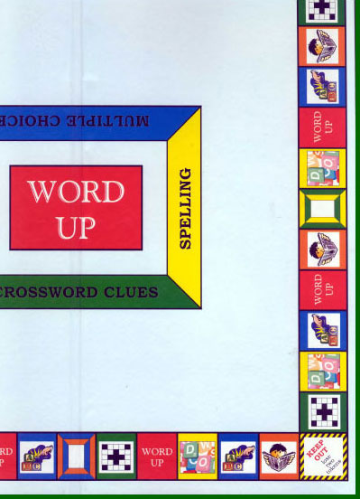 WORD UP PLAYING BOARD